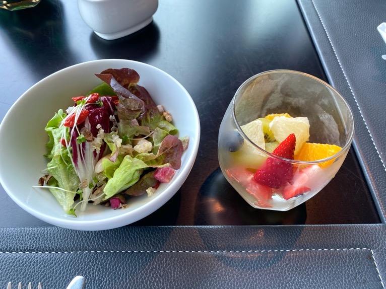 ザ・ペニンシュラ東京の朝食「Peter(ピーター)」:洋食(サラダ、フルーツ)