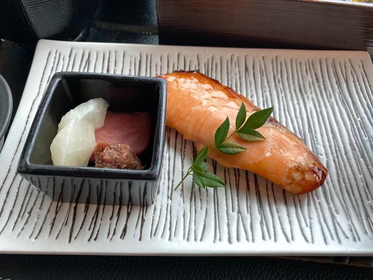 ザ・ペニンシュラ東京の朝食「Peter(ピーター)」:和食(焼き魚)