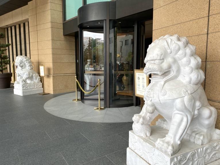 ザ・ペニンシュラ東京「外観」:エントランス