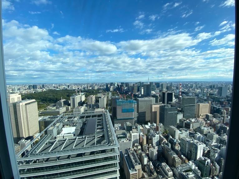 アンダーズ東京の朝食:眺望2