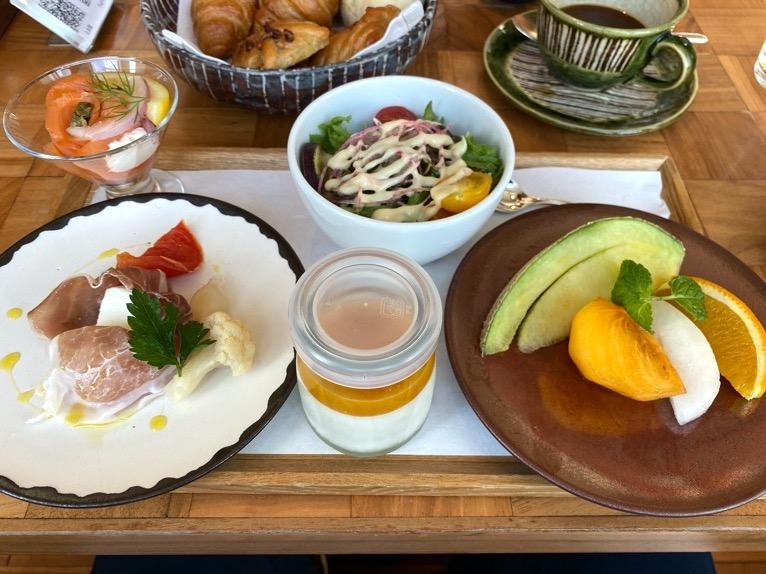 アンダーズ東京の朝食:洋朝食(前菜1)