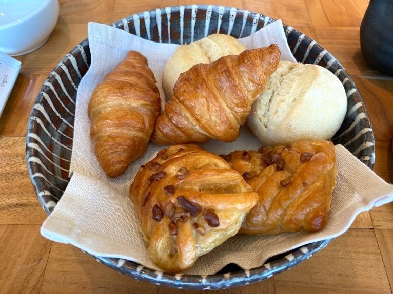 アンダーズ東京の朝食:パン