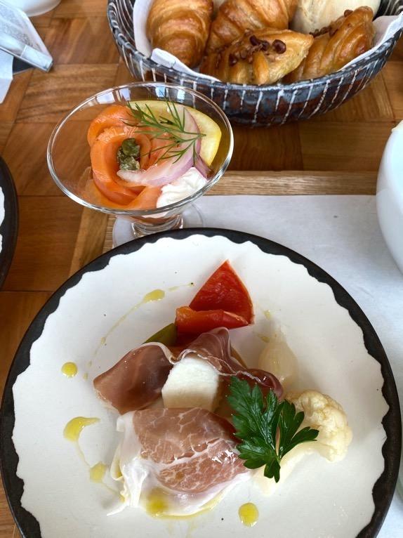 アンダーズ東京の朝食:洋朝食(前菜2)