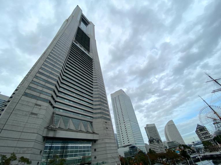 横浜ロイヤルパークホテル「外観」:全体像