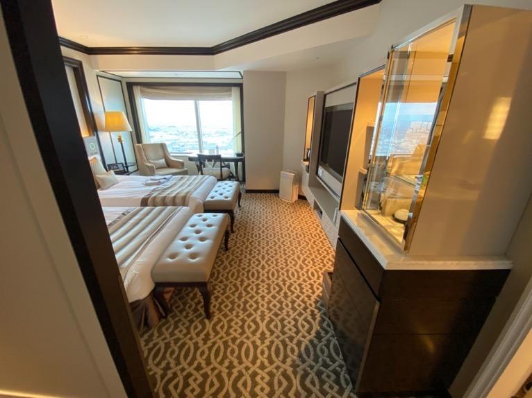 横浜ロイヤルパークホテル「客室」:寝室
