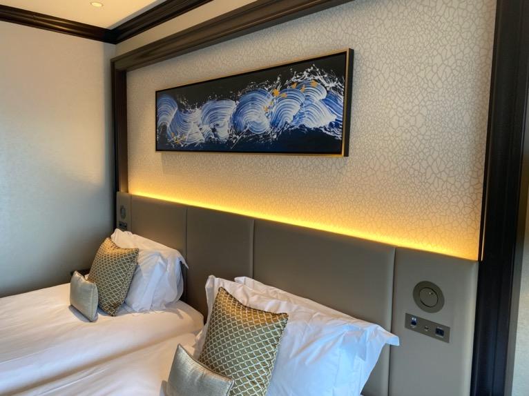 横浜ロイヤルパークホテル「その他設備」:ヘッドボード