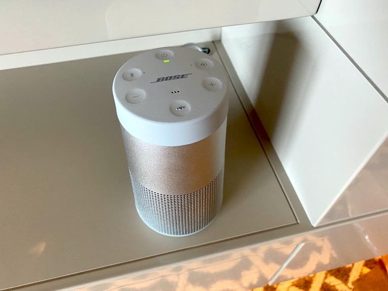 横浜ロイヤルパークホテル「その他設備」:モバイルスピーカー