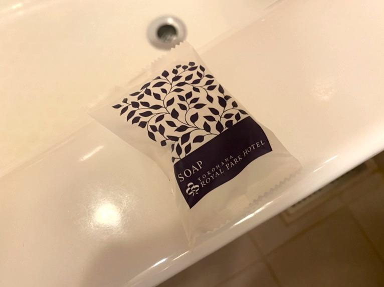 横浜ロイヤルパークホテル「バスルーム」:石鹸