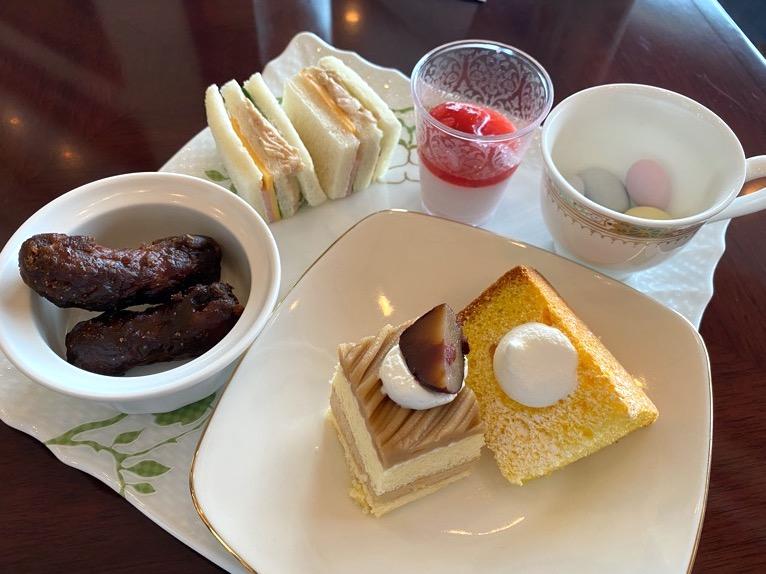 横浜ロイヤルパークホテルのクラブラウンジ「ティータイム」:実食2