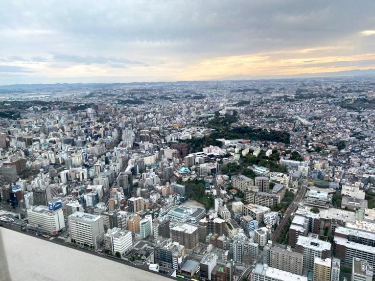 横浜ロイヤルパークホテルのクラブラウンジ:眺望