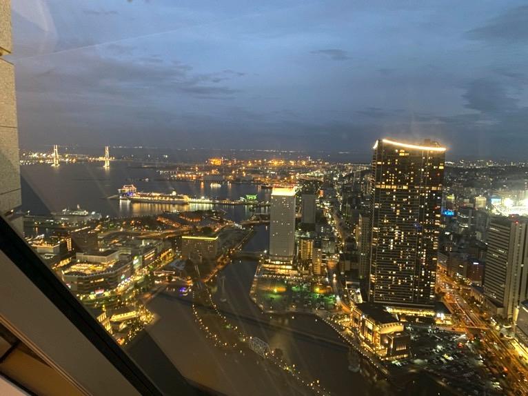 横浜ロイヤルパークホテル「リラクゼーションルーム」:眺望