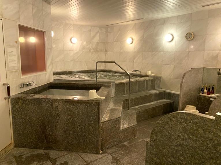 横浜ロイヤルパークホテル「スパ」:大浴場