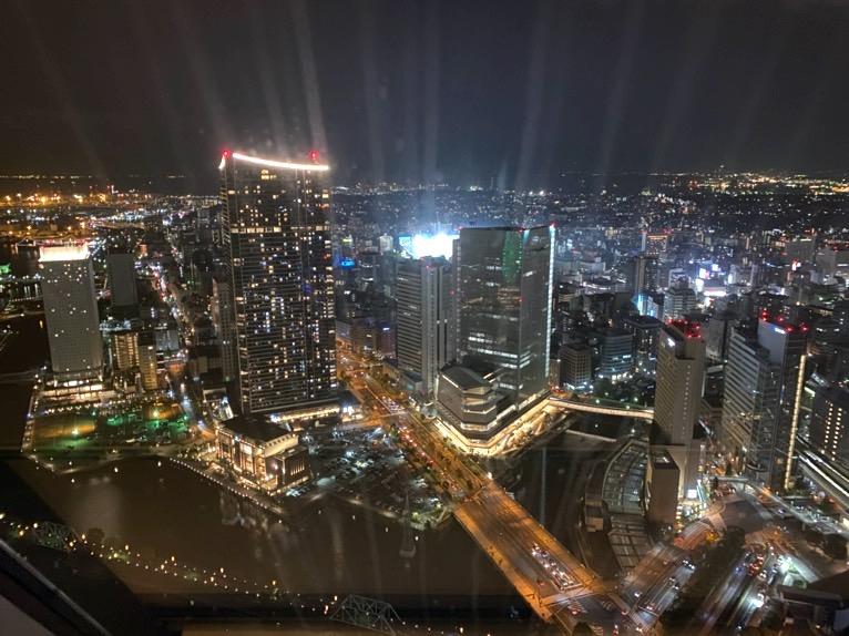 横浜ロイヤルパークホテル「プール」:眺望