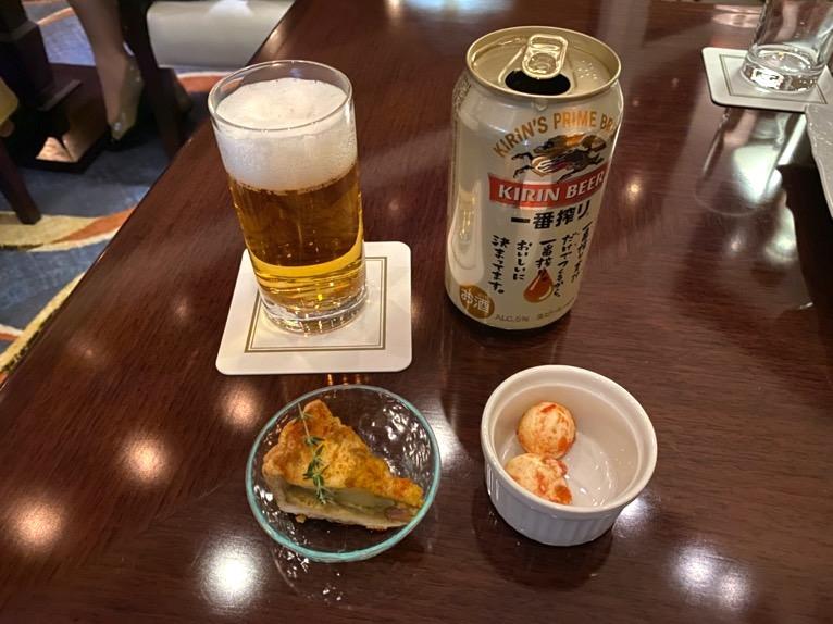 横浜ロイヤルパークホテルのクラブラウンジ「イブニングカクテル」:実食2