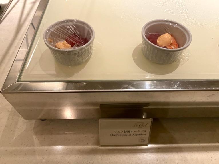 横浜ロイヤルパークホテルのクラブラウンジ「イブニングカクテル」:フードの品揃え4