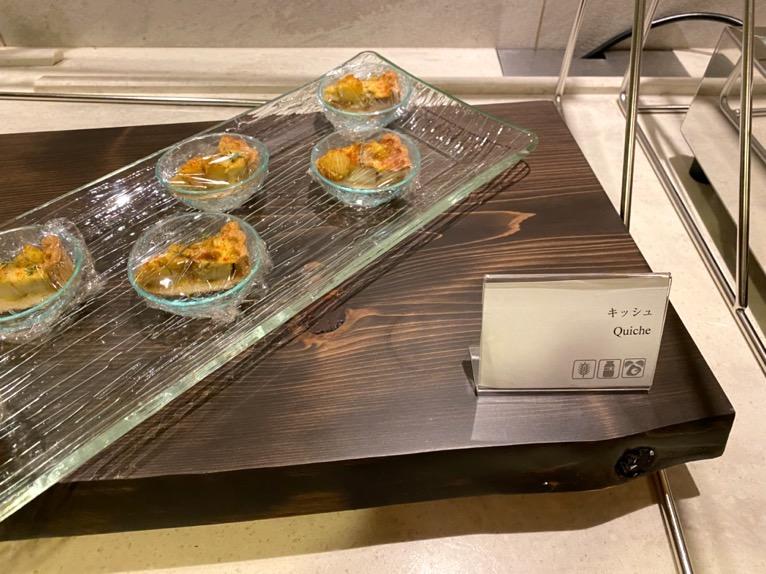 横浜ロイヤルパークホテルのクラブラウンジ「イブニングカクテル」:フードの品揃え6