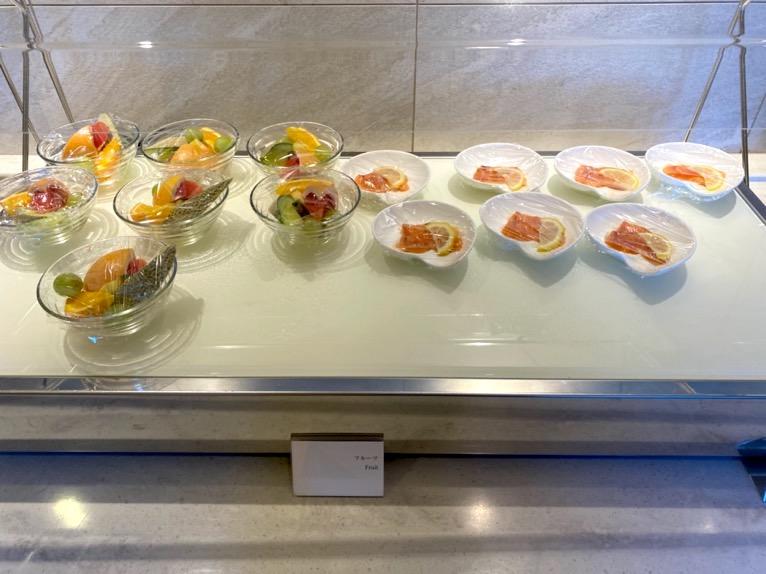 横浜ロイヤルパークホテルのクラブラウンジ「朝食」:フードの品揃え2