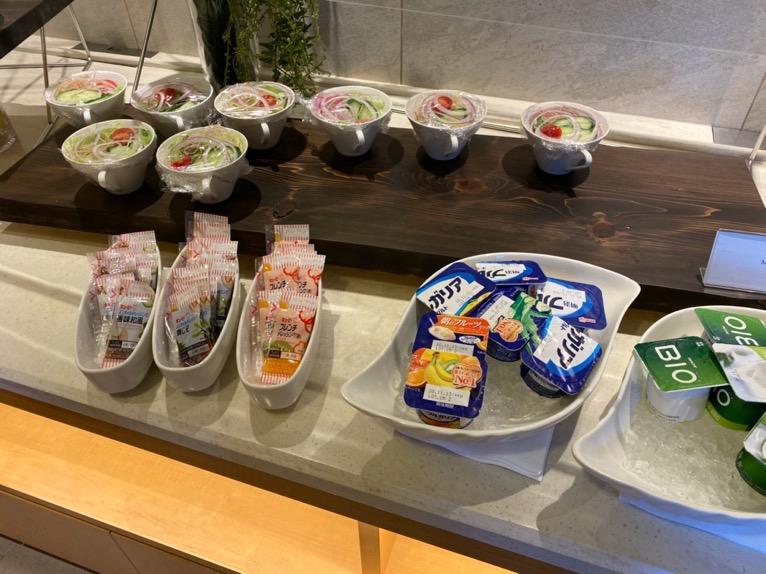 横浜ロイヤルパークホテルのクラブラウンジ「朝食」:フードの品揃え3