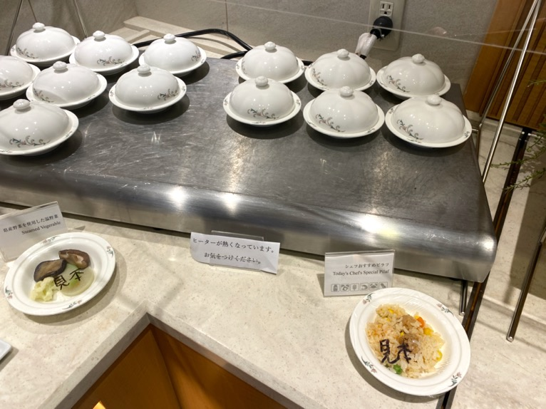 横浜ロイヤルパークホテルのクラブラウンジ「朝食」:フードの品揃え5