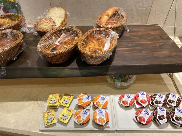 横浜ロイヤルパークホテルのクラブラウンジ「朝食」:フードの品揃え7