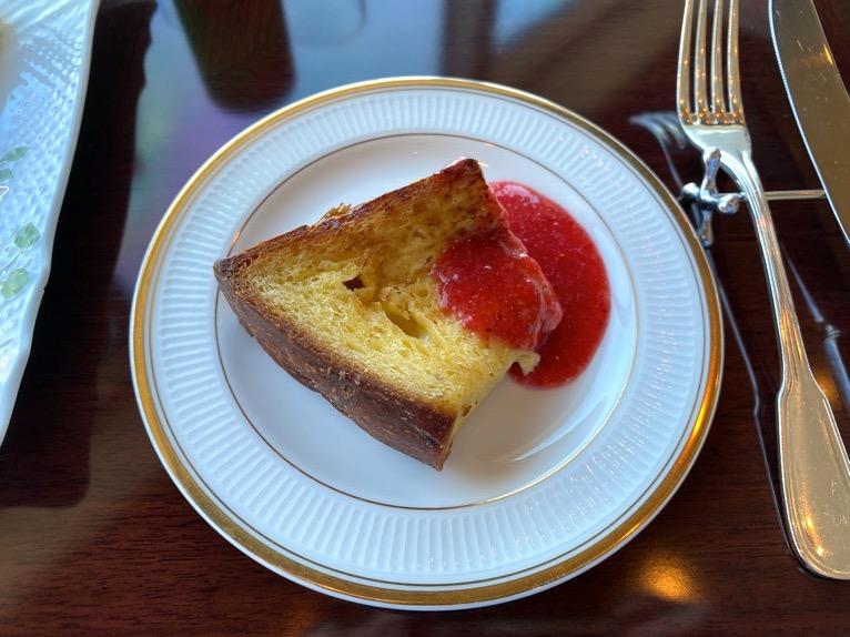 横浜ロイヤルパークホテルのクラブラウンジ「朝食」:実食4