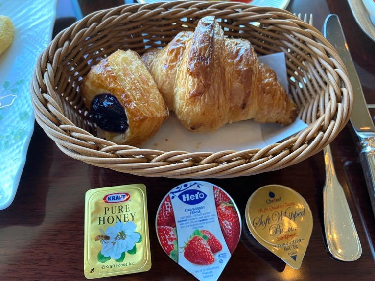 横浜ロイヤルパークホテルのクラブラウンジ「朝食」:実食2