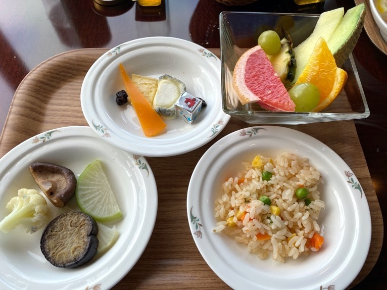横浜ロイヤルパークホテルのクラブラウンジ「朝食」:実食5
