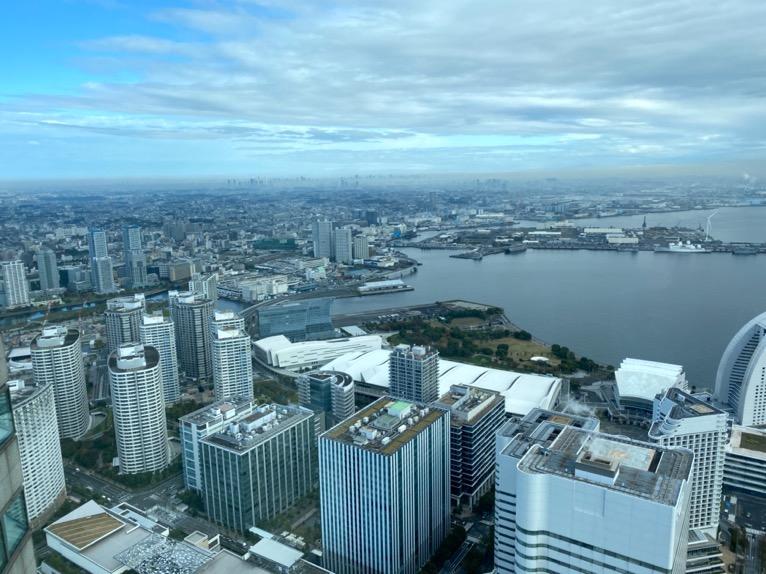 横浜ロイヤルパークホテル「客室」:眺望2