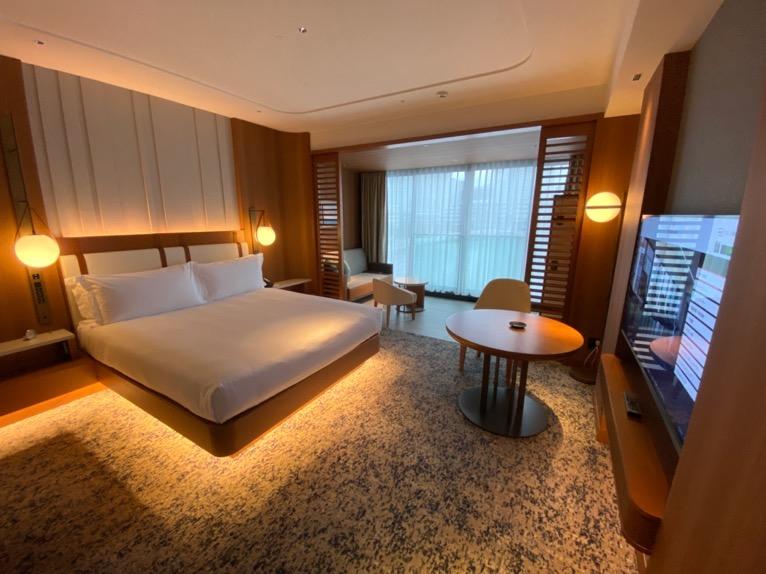 インターコンチネンタル横浜Pier8「客室」:寝室