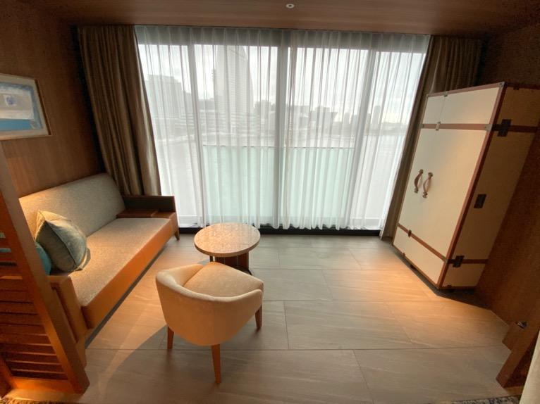 インターコンチネンタル横浜Pier8「客室」:サンルーム