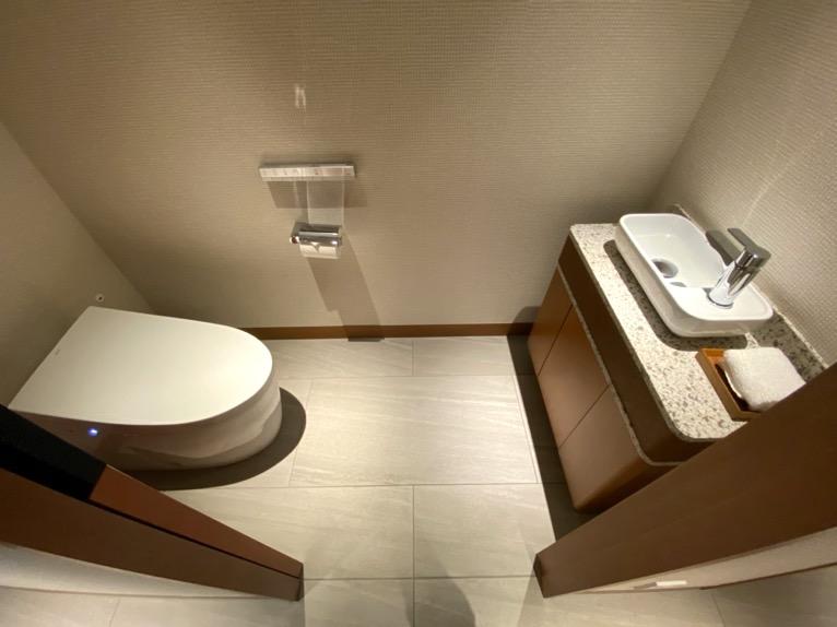 インターコンチネンタル横浜Pier8「客室」:トイレ