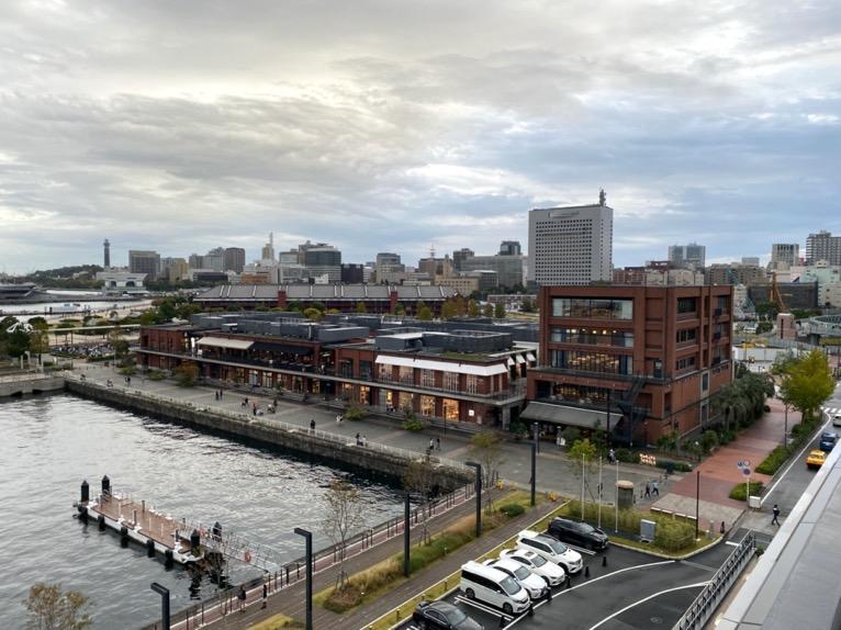 インターコンチネンタル横浜Pier8「ルーフトップ」:眺望2