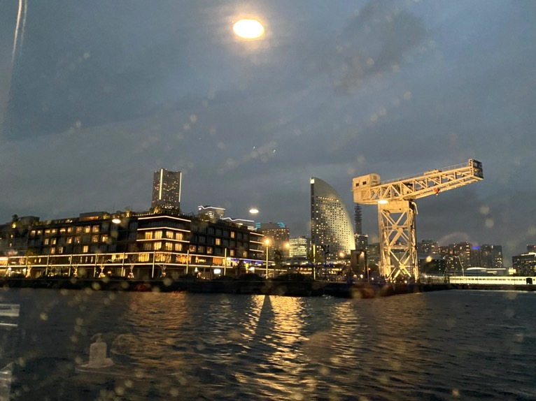 インターコンチネンタル横浜Pier8のクルーズ「クルージングの様子」:ハンマーヘッド