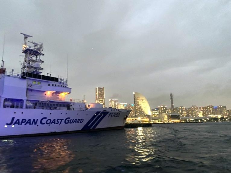 インターコンチネンタル横浜Pier8のクルーズ「クルージングの様子」:海上保安庁