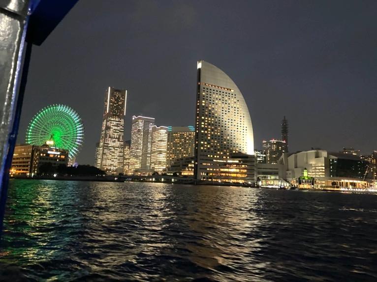 インターコンチネンタル横浜Pier8のクルーズ「クルージングの様子」:みなとみらい運河