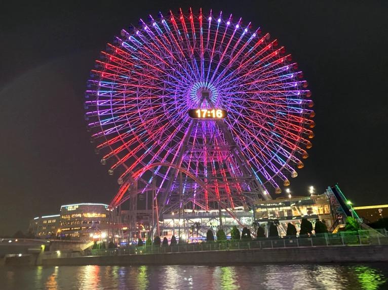 インターコンチネンタル横浜Pier8のクルーズ「クルージングの様子」:大観覧車