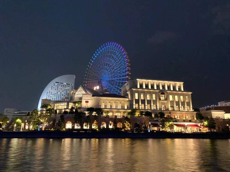 インターコンチネンタル横浜Pier8のクルーズ「クルージングの様子」:アニヴェルセル