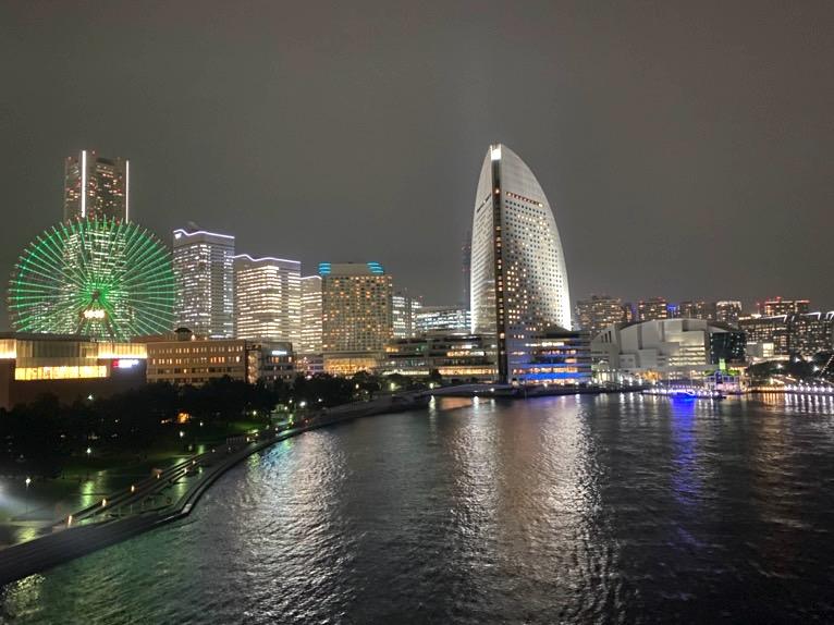 インターコンチネンタル横浜Pier8「客室」:夜景