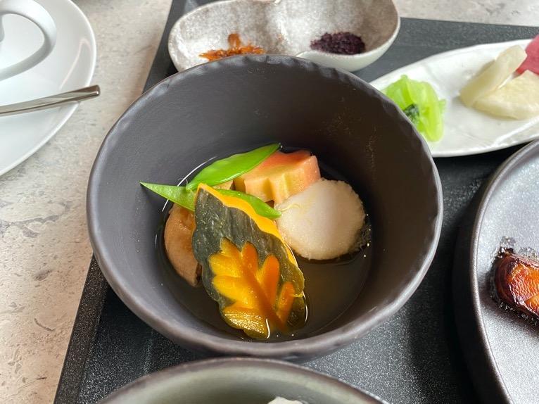 インターコンチネンタル横浜Pier8「朝食」:小鉢1