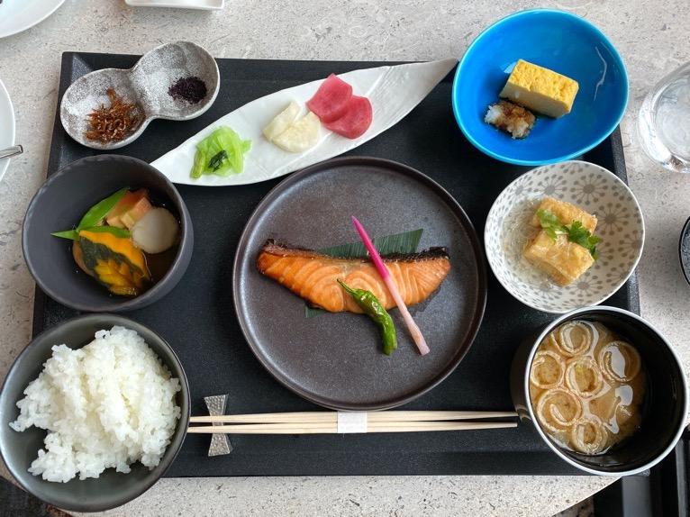 インターコンチネンタル横浜Pier8「朝食」:和食