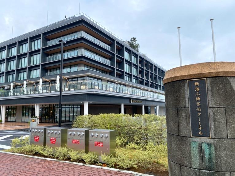 インターコンチネンタル横浜Pier8の外観