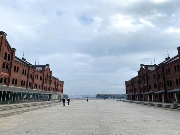 インターコンチネンタル横浜Pier8「朝の散策」:みなとみらい21の風景2