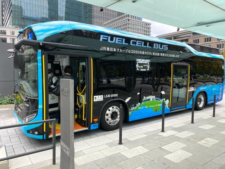 無料巡回バスを体験レポート:バスの外観1