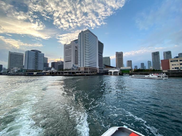 水上バス(定期運行線)を体験レポート:デッキの様子3