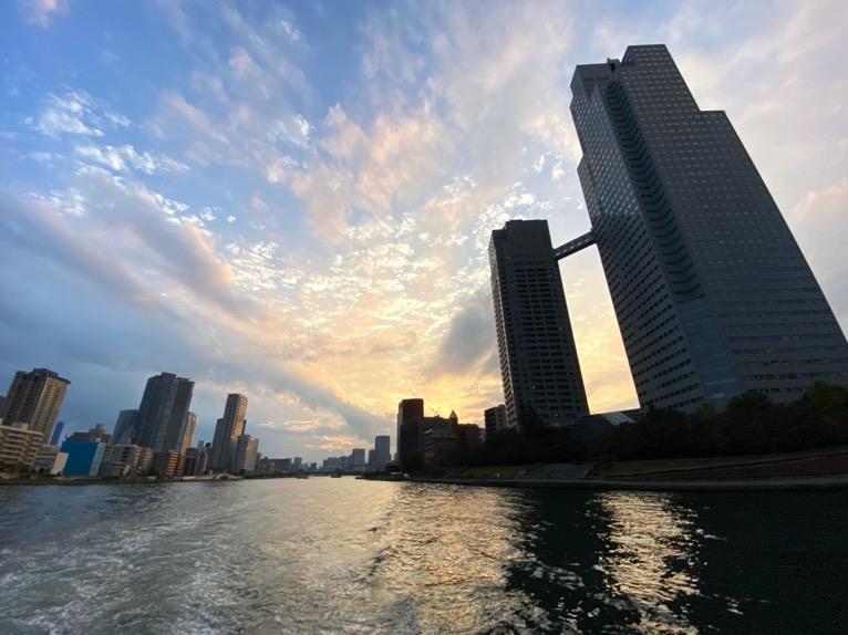 水上バス(定期運行線)を体験レポート:デッキからの眺望3