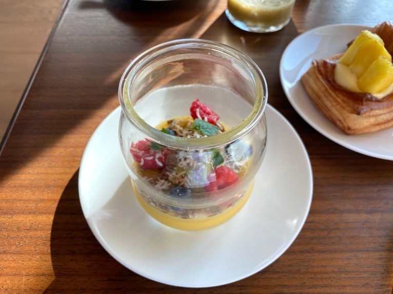 東京エディション虎ノ門「朝食」:洋食セット(メロンサラダ1)
