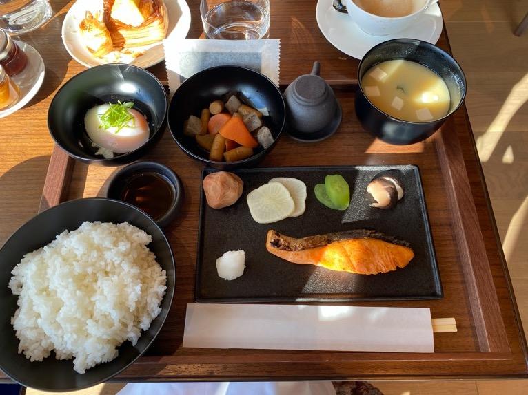 東京エディション虎ノ門「朝食」:和朝食(メイン)