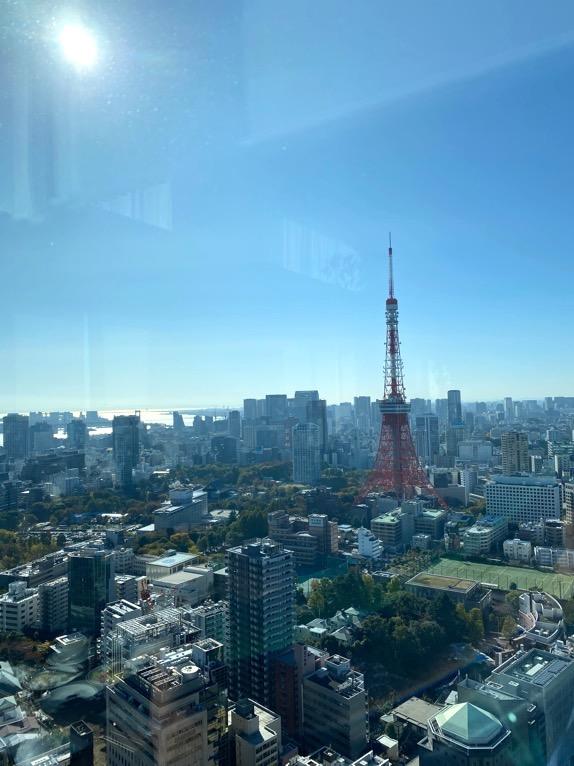 東京エディション虎ノ門「朝食」:眺望