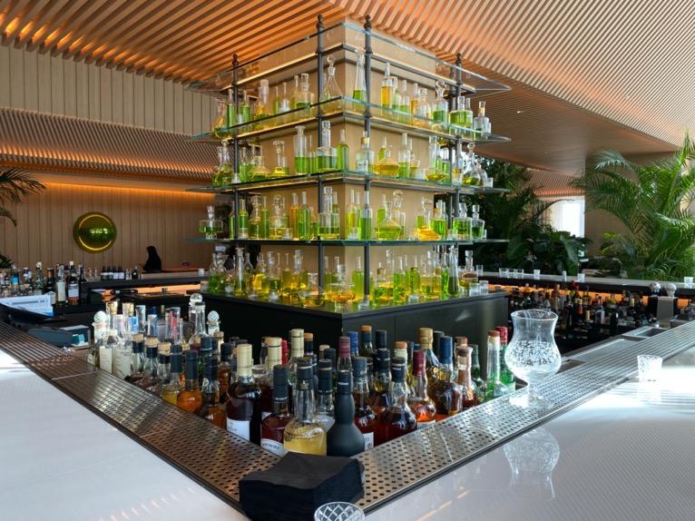 東京エディション虎ノ門「The Lobby Bar」:バーカウンター