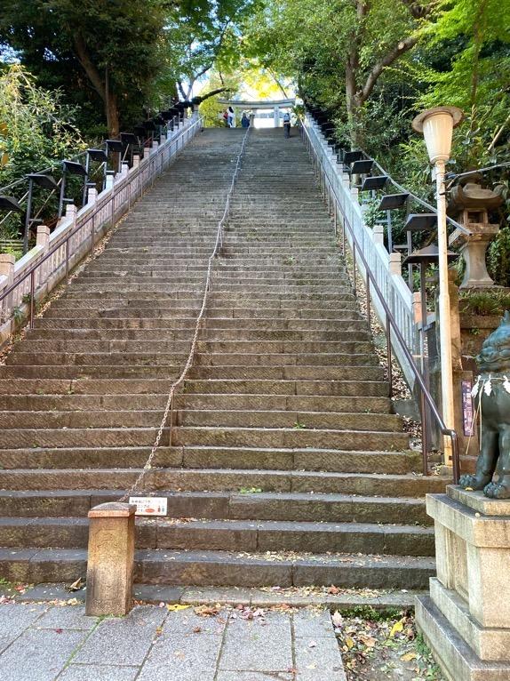 東京エディション虎ノ門「朝食後の散策」:愛宕神社(出世の階段1)